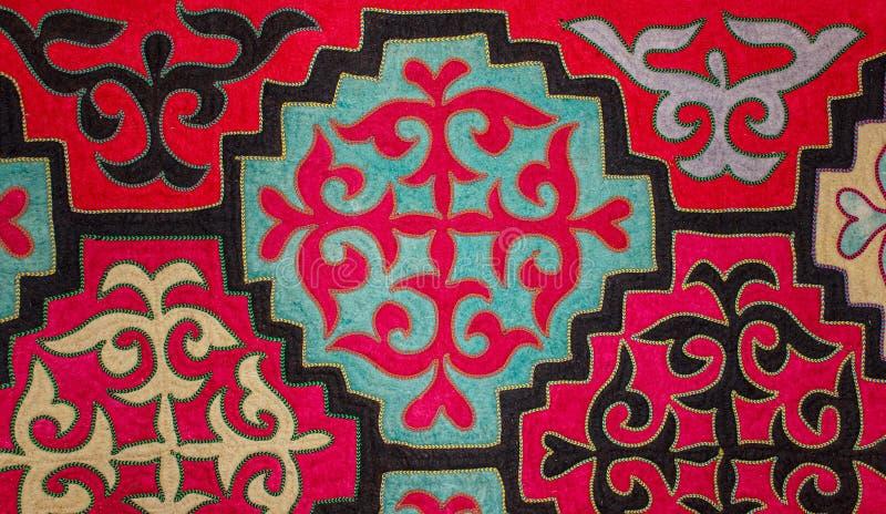 Αισθητός ο Καζάκος τάπητας 4 στοκ εικόνα με δικαίωμα ελεύθερης χρήσης