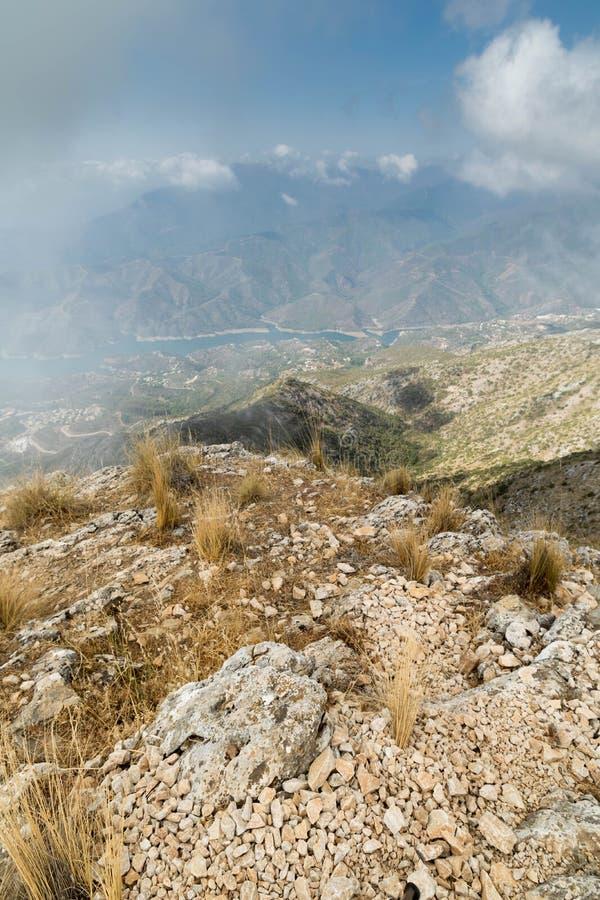 Αιχμή βουνών Marbella στοκ εικόνες