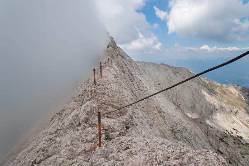 Αιχμή Koncheto στο βουνό Pirin στοκ εικόνες