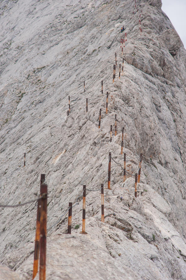 Αιχμή Koncheto στο βουνό Pirin στοκ φωτογραφίες με δικαίωμα ελεύθερης χρήσης