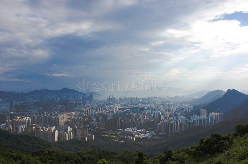 Αιχμή Kowloon στοκ εικόνες
