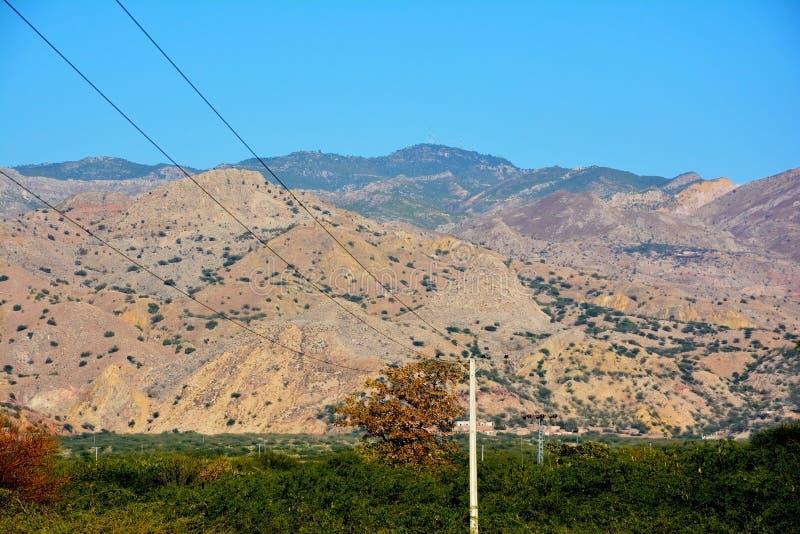 Αιχμή Sakesar στο αλατισμένο βουνό σειράς στοκ εικόνα με δικαίωμα ελεύθερης χρήσης