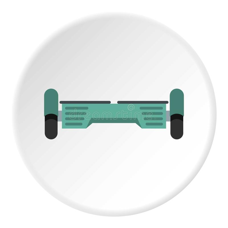 Αιωρηθείτε τον κύκλο εικονιδίων λοβών γυροσκοπίων πινάκων ελεύθερη απεικόνιση δικαιώματος