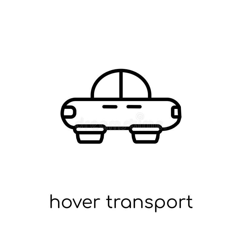 Αιωρηθείτε το εικονίδιο μεταφορών  διανυσματική απεικόνιση