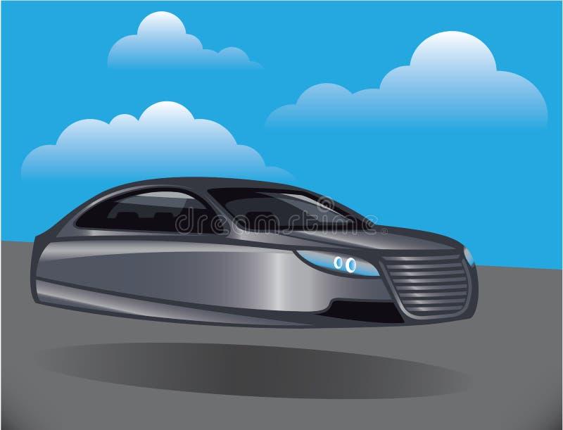 Αιωρηθείτε το διάνυσμα αυτοκινήτων απεικόνιση αποθεμάτων