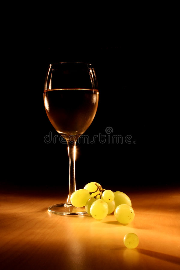 ακίνητο κρασί ζωής βραδιο στοκ φωτογραφία με δικαίωμα ελεύθερης χρήσης