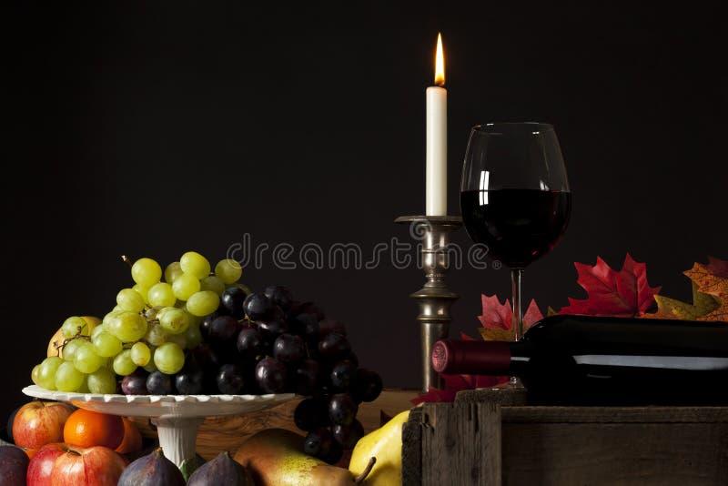 ακίνητο κρασί ζωής καρπού στοκ εικόνες
