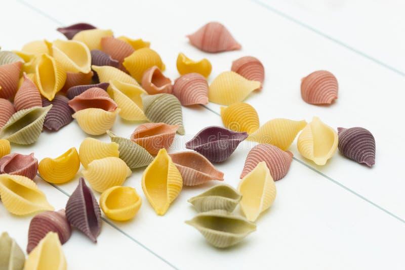 Ακατέργαστα ζυμαρικά cocciolette στοκ εικόνα