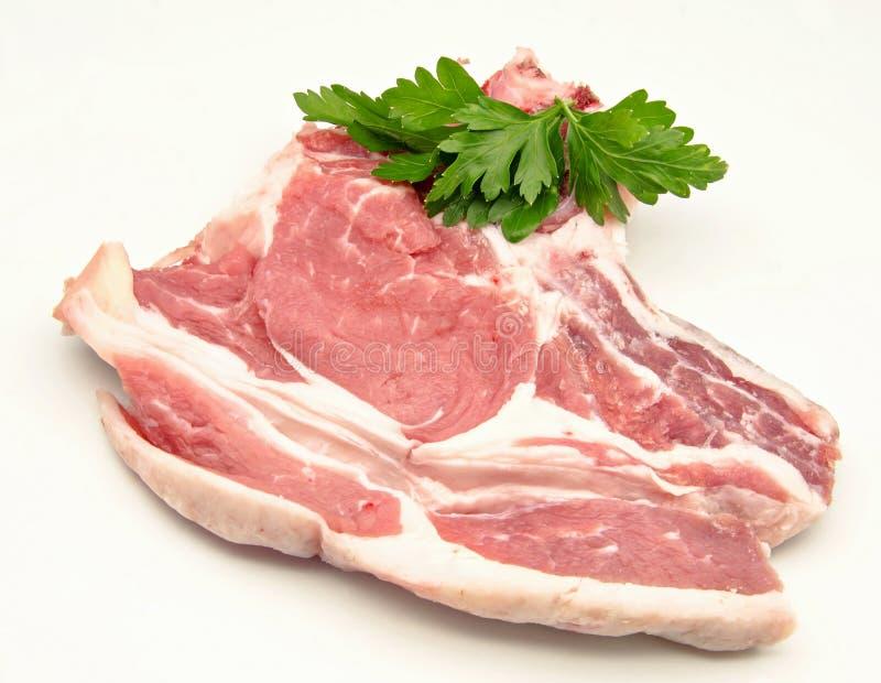 Ακατέργαστο βόειο κρέας στοκ φωτογραφία