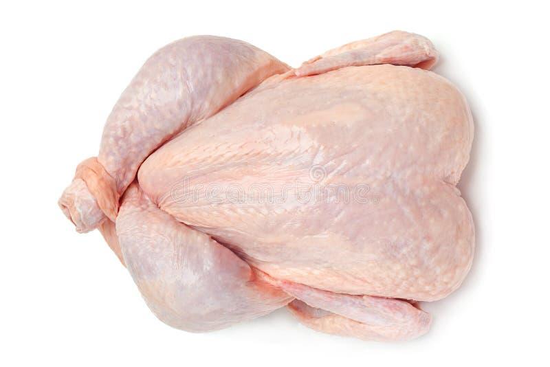 Ακατέργαστο σώμα κοτόπουλου στοκ φωτογραφίες