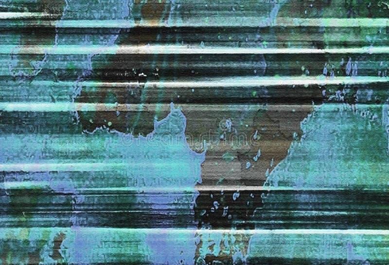 Αφηρημένη Expressionism σύσταση ύφους απεικόνιση αποθεμάτων