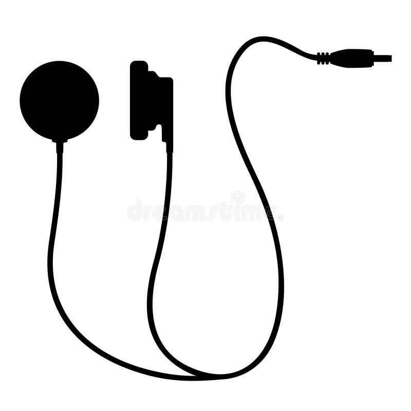 Ακουστικά εικονιδίων ελεύθερη απεικόνιση δικαιώματος