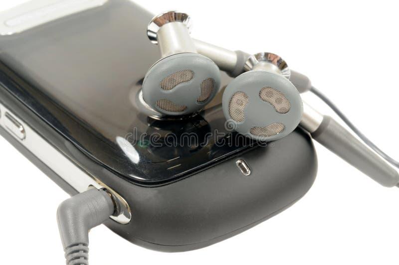 ακουστικά κυττάρων στοκ εικόνες με δικαίωμα ελεύθερης χρήσης