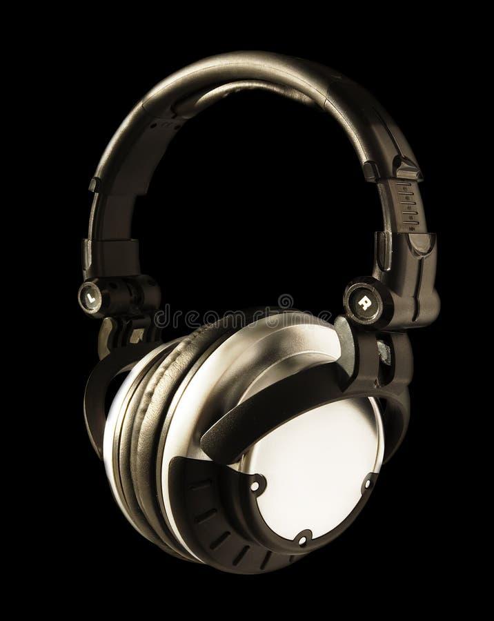 ακουστικά του DJ στοκ εικόνες με δικαίωμα ελεύθερης χρήσης
