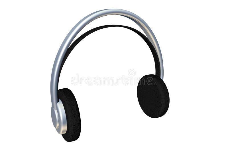 ακουστικά διανυσματική απεικόνιση