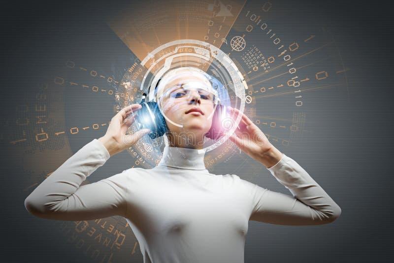 Ακουστικές τεχνολογίες στοκ εικόνα με δικαίωμα ελεύθερης χρήσης
