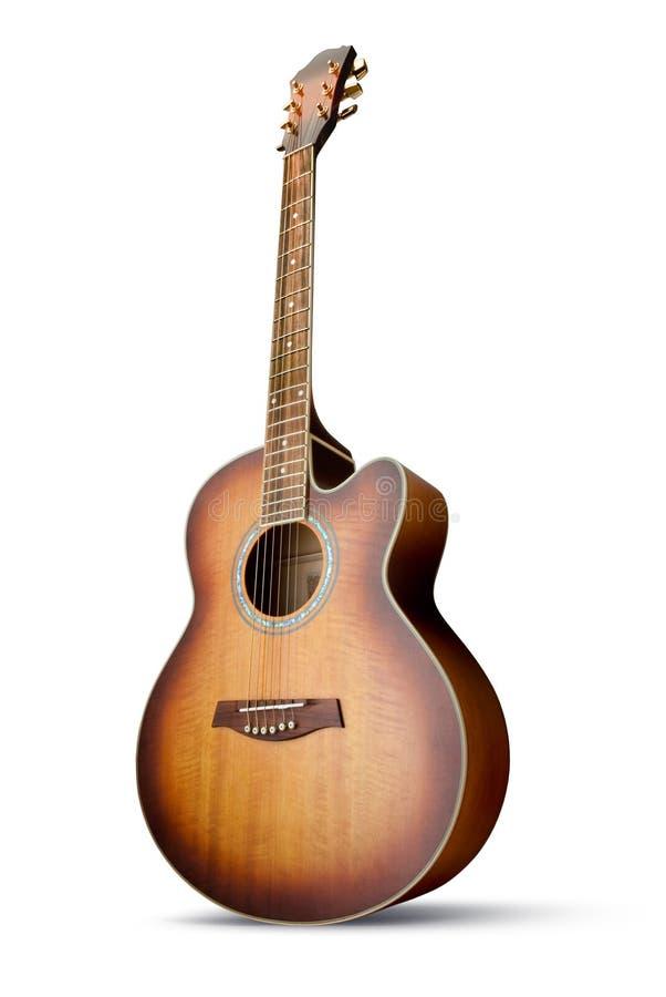 ακουστική κιθάρα στοκ φωτογραφία