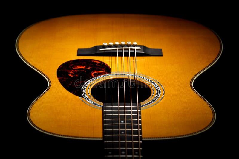 ακουστική κιθάρα στοκ εικόνες
