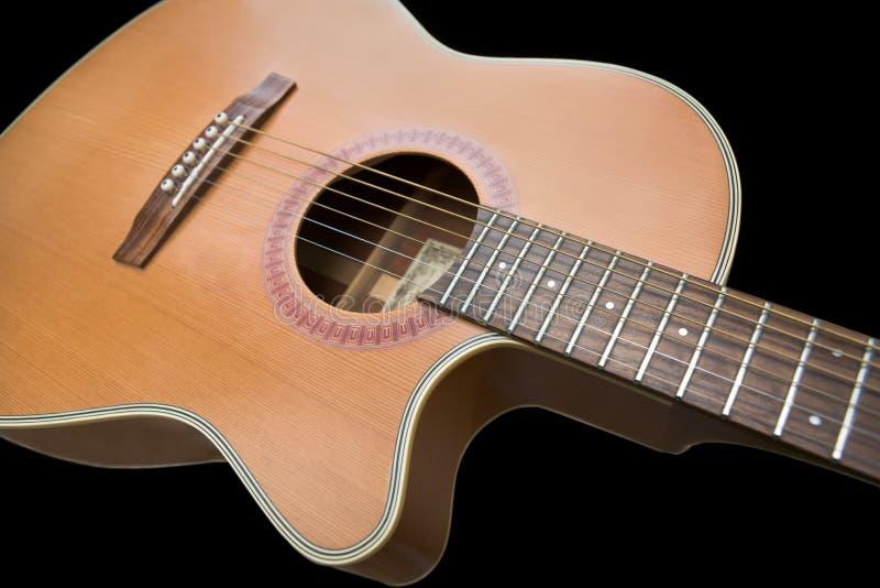 ακουστική κιθάρα στοκ εικόνα