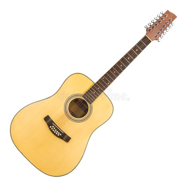 ακουστική συμβολοσειρά κιθάρων 12 στοκ εικόνες