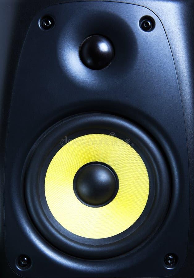 Ακουστικός στενός επάνω ομιλητών στοκ φωτογραφία