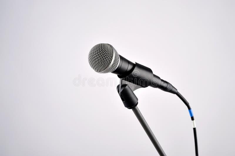 Ακουστικό μικρόφωνο στοκ φωτογραφίες με δικαίωμα ελεύθερης χρήσης