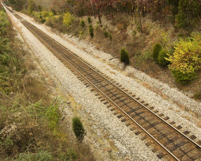ακολουθήστε το τραίνο στοκ εικόνες με δικαίωμα ελεύθερης χρήσης