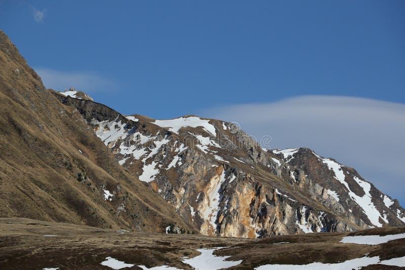 Ακραία έκταση βουνών στοκ εικόνα με δικαίωμα ελεύθερης χρήσης