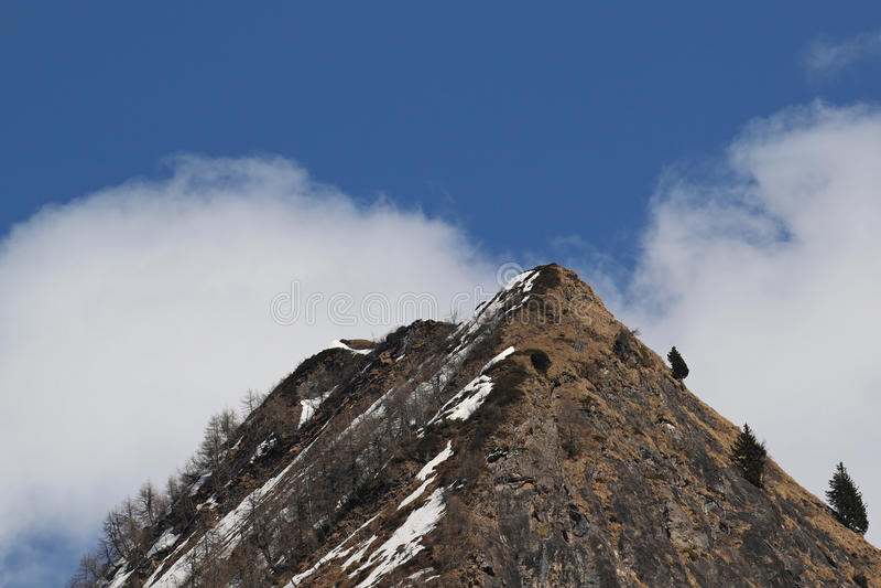 Ακραία έκταση βουνών στοκ εικόνα