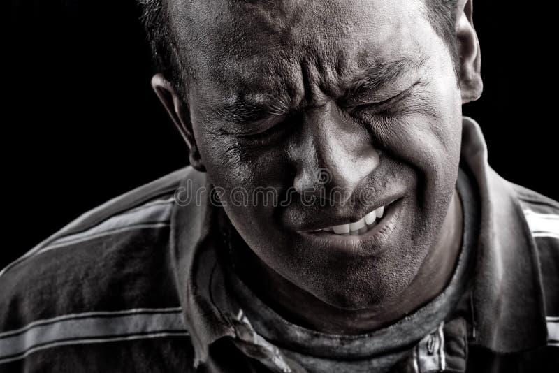 ακραίος πόνος ατόμων άγχο&upsilo στοκ εικόνες με δικαίωμα ελεύθερης χρήσης
