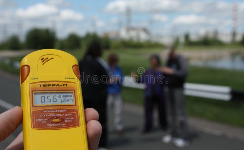 Ακραίος τουρισμός του Τσέρνομπιλ στοκ εικόνα με δικαίωμα ελεύθερης χρήσης
