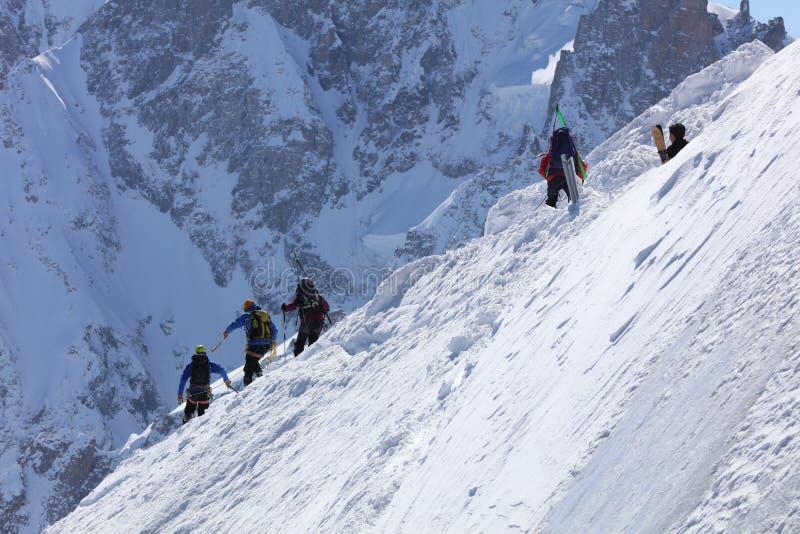 ακραίο να κάνει σκι στοκ φωτογραφία με δικαίωμα ελεύθερης χρήσης