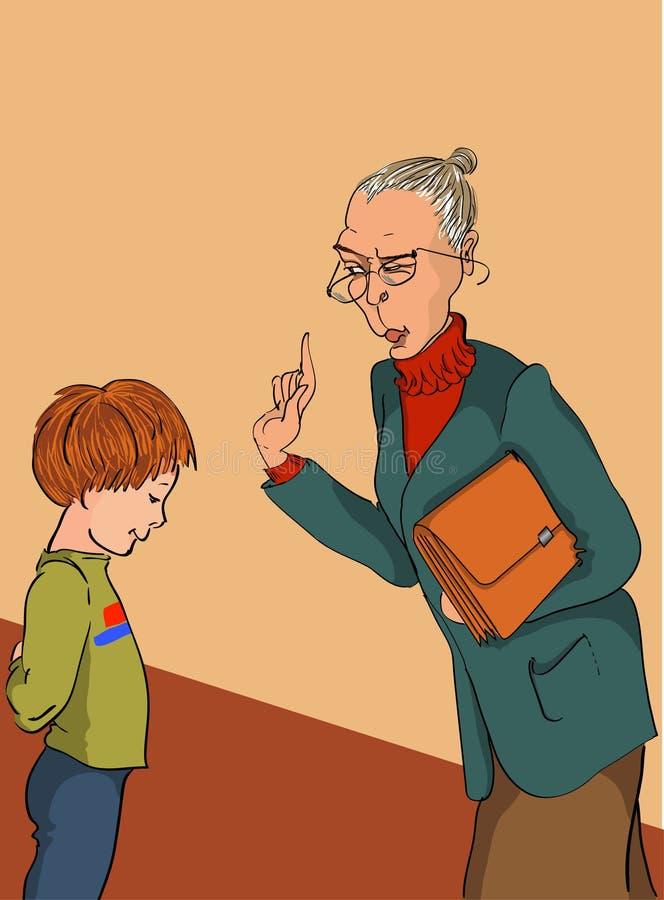 ακριβής δάσκαλος ελεύθερη απεικόνιση δικαιώματος