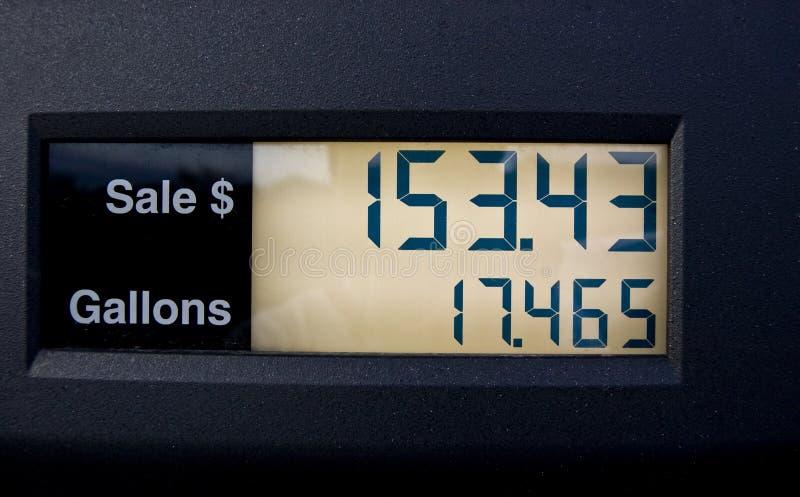 ακριβό αέριο στοκ εικόνα