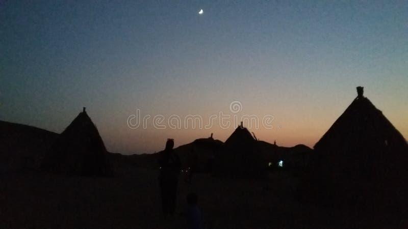 ακριβώς ηλιοβασίλεμα στοκ φωτογραφίες