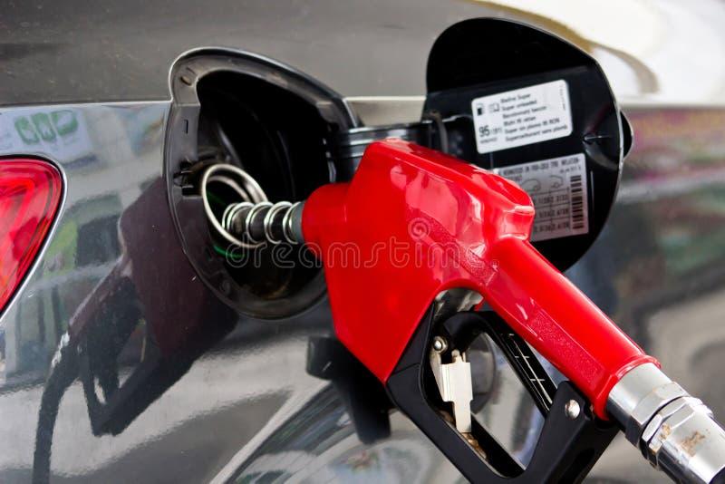 Ακροφύσιο βενζίνης στοκ εικόνα