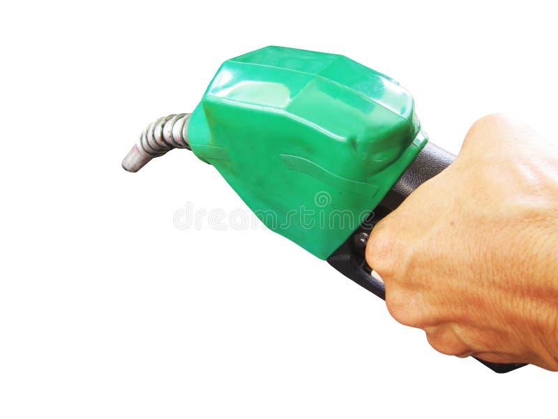 Download Ακροφύσιο καυσίμων που απομονώνεται στο άσπρο υπόβαθρο Στοκ Εικόνα - εικόνα από closeup, παραγωγή: 62711549