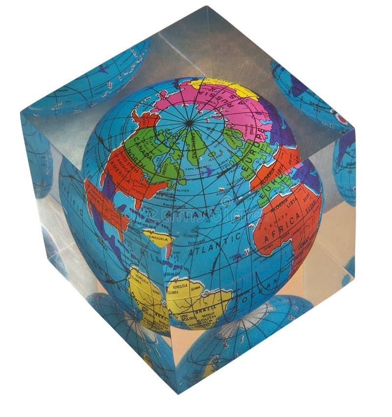 Ακρυλική παγκόσμια σφαίρα στοκ εικόνα με δικαίωμα ελεύθερης χρήσης