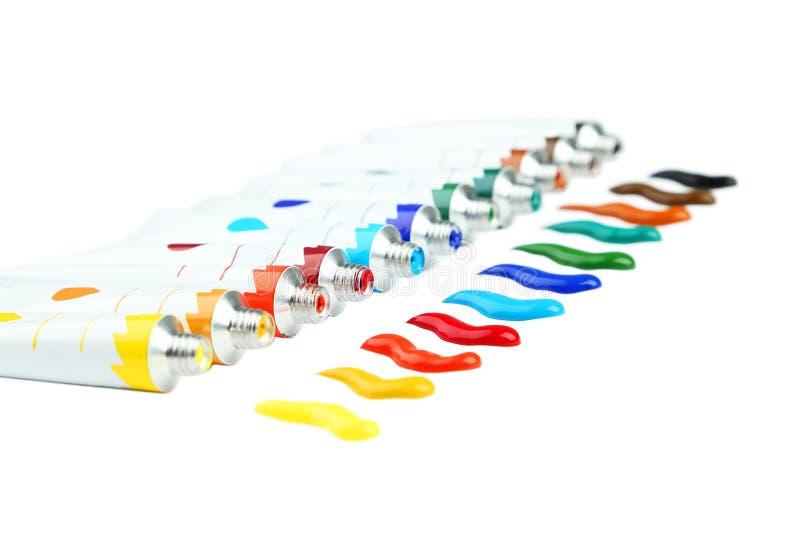 Ακρυλικά χρώματα στοκ φωτογραφία με δικαίωμα ελεύθερης χρήσης