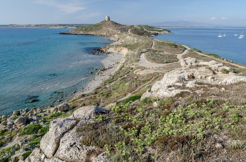 Ακρωτήριο του ST Marco, Σαρδηνία στοκ εικόνες με δικαίωμα ελεύθερης χρήσης