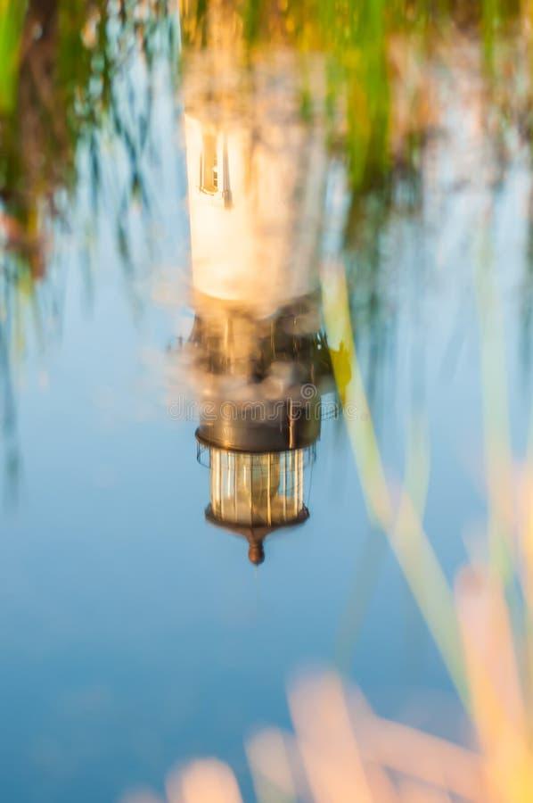 Ακρωτήριο Hatteras φάρων OBX νησιών σώματος στοκ φωτογραφίες