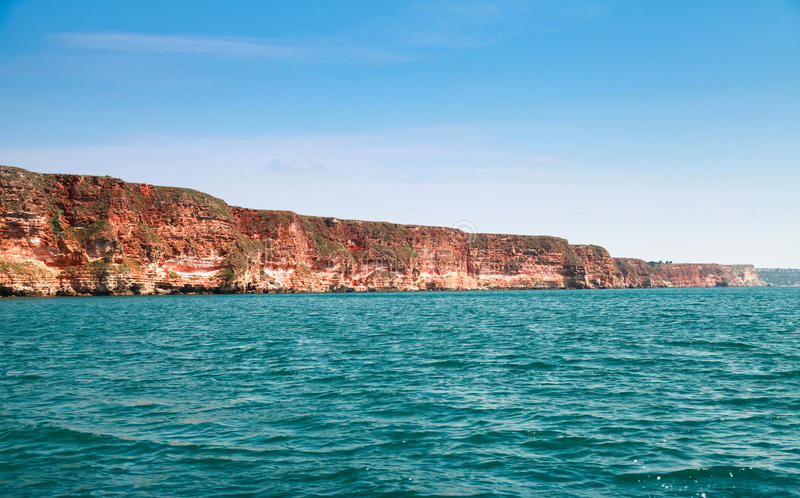 Ακρωτήριο Kaliakra Ακτή της Βουλγαρίας, Μαύρη Θάλασσα στοκ εικόνα με δικαίωμα ελεύθερης χρήσης