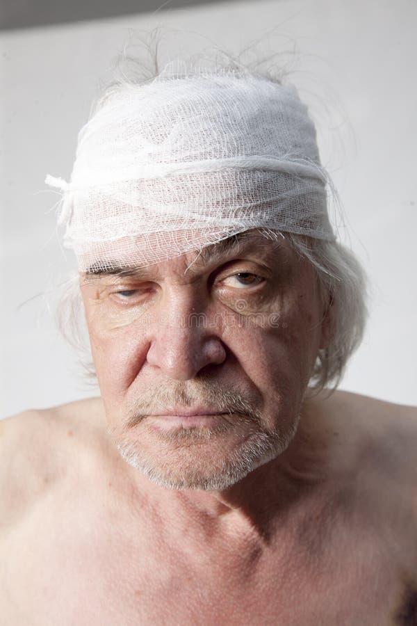 Ακρωτηριασμένο ληστές άτομο στοκ φωτογραφίες με δικαίωμα ελεύθερης χρήσης