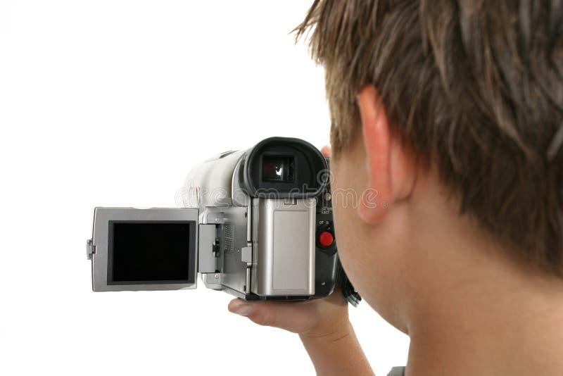 ακρόαση κινηματογράφων στοκ φωτογραφία