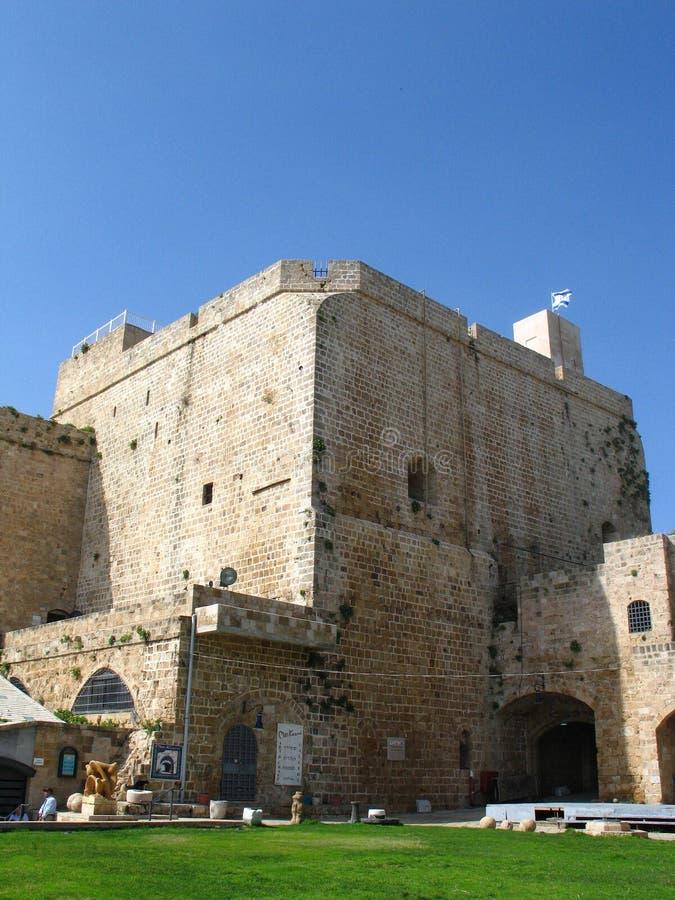 ακρόπολη Ισραήλ στρέμματος στοκ εικόνες