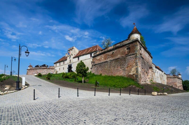 Ακρόπολη Brasov, Τρανσυλβανία, Ρουμανία στοκ φωτογραφίες με δικαίωμα ελεύθερης χρήσης