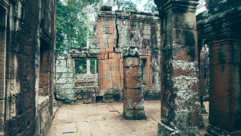 Ακρόπολη Kdei Banteay των μοναχών στοκ φωτογραφία με δικαίωμα ελεύθερης χρήσης