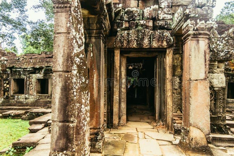 Ακρόπολη Kdei Banteay των μοναχών στοκ εικόνα
