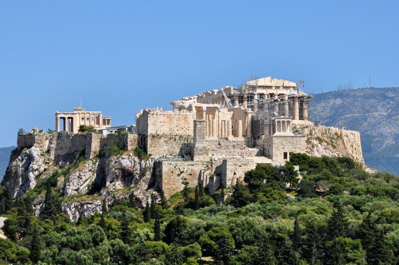 ακρόπολη Αθήνα στοκ εικόνες με δικαίωμα ελεύθερης χρήσης