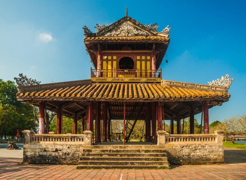 Ακρόπολη στο χρώμα στο Βιετνάμ στοκ εικόνα με δικαίωμα ελεύθερης χρήσης